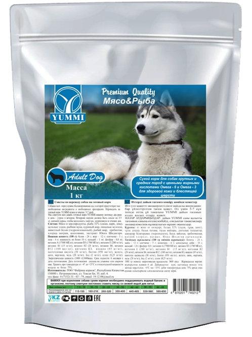 Yummi Premium Quality «Мясо&Рыба» 16кг