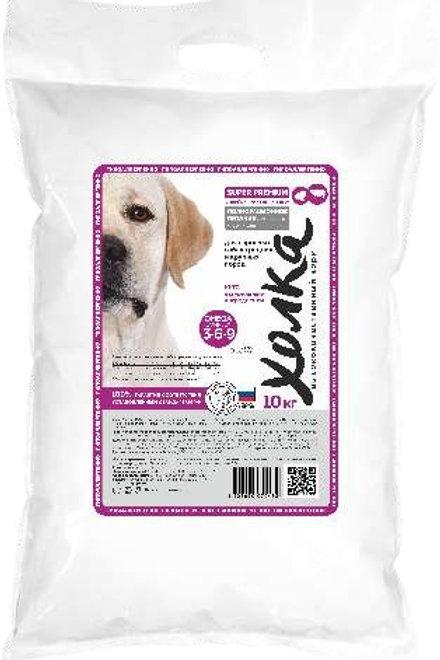 Холка для собак сред. и круп..пород индейка+говядина+рис