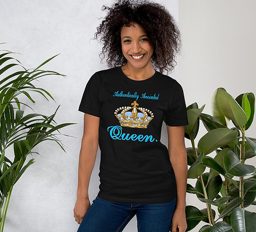 Short-Sleeve Unisex T-Shirt aa queen blue