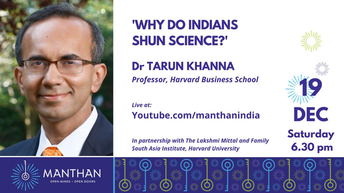 Why do Indians Shun Science?