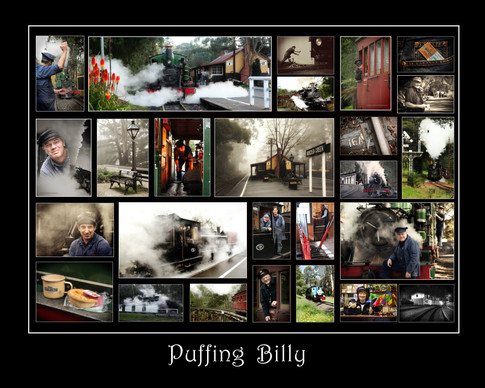 Puffing Billy Montage
