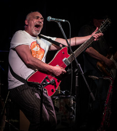 Joe Camilleri of The Black Sorrows at the Flying Saucer 8/10/2017