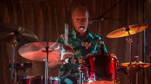 Freddie Strauks (Skyhooks) playing in Million Dollar Riff at the Satellite Lounge 27/08/2016