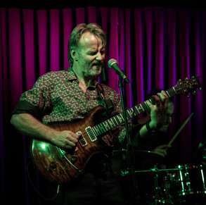 Geoff Achison at the Flying Saucer 3/03/2017