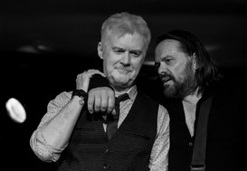 Mick Pealing and Rusty Brown of the Spaniards at the Satellite Lounge 25/11/2016