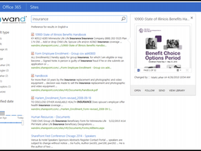 Before and After: The Impact of WAND Taxonomy on SharePoint Search