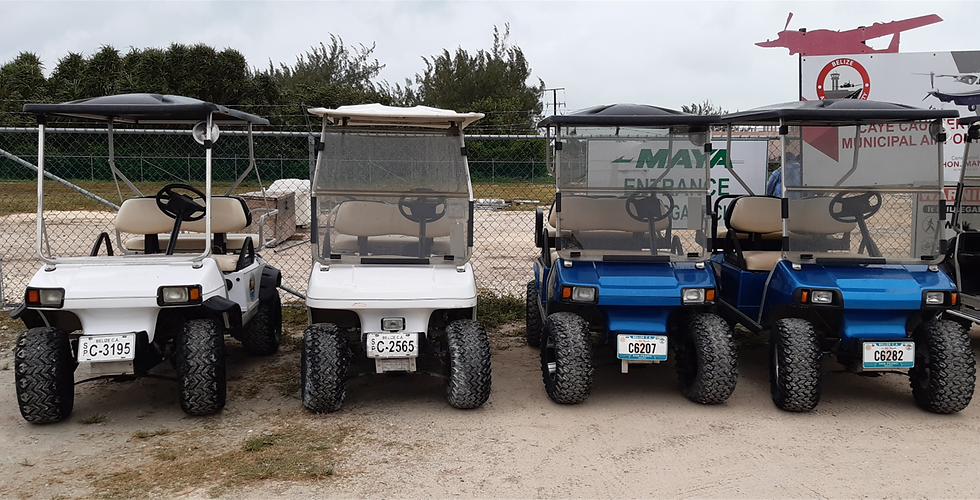 Buddy's Golf Cart Rental - Caye Caulker.