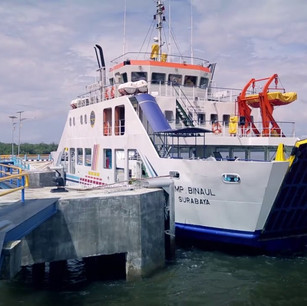 Pelabuhan Penyeberangan Sumpit - Ceremai, Kalimantan
