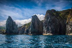Costa norte da ilha de São Miguel
