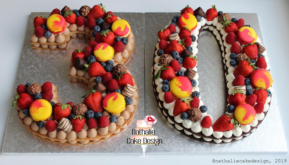 Number Cake 30