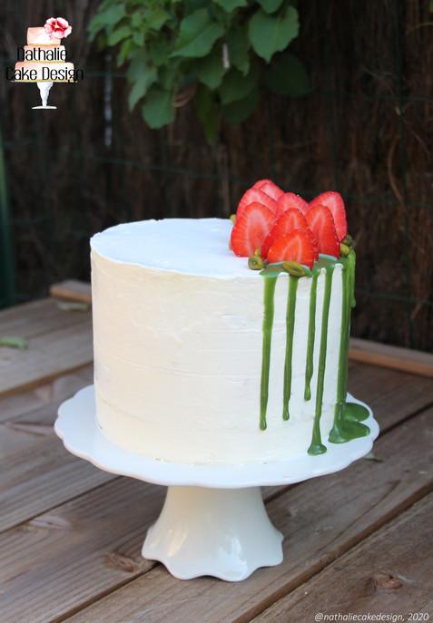 Layer Cake Fraise Pistache