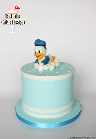 Gâteau Baby Shower Donald