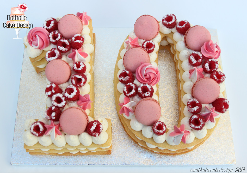 Number Cake 10