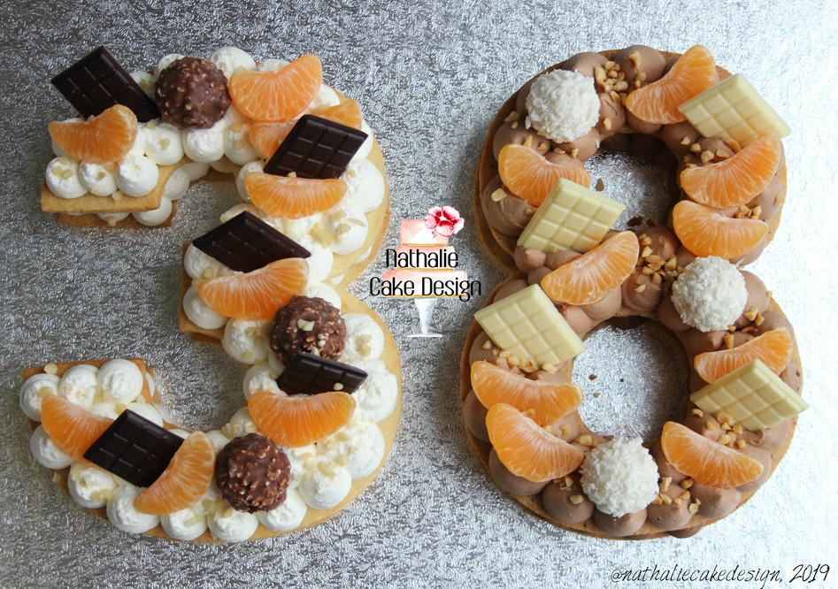 Number Cake 38