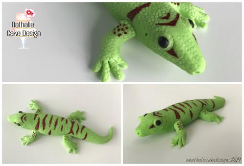 Modelage gecko