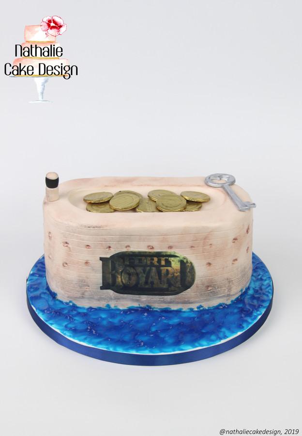 Gâteau Fort Boyard