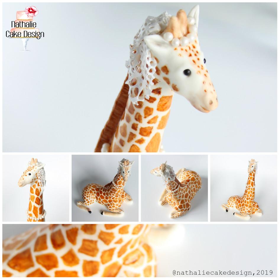 Modelage Girafe Mariée