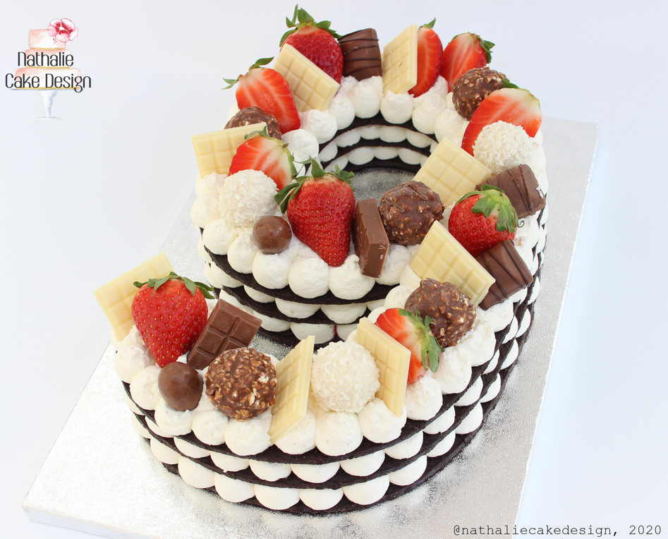 Number Cake 9