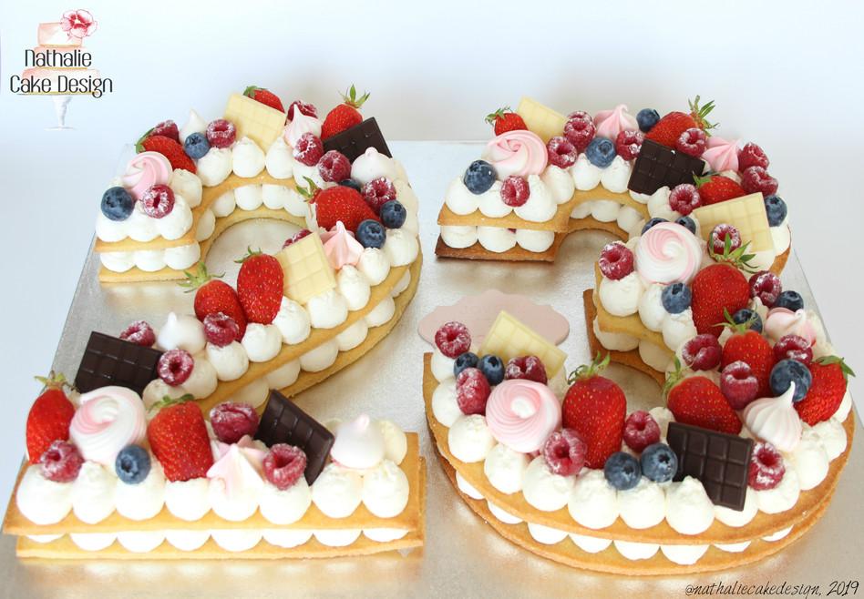 Number Cake 23