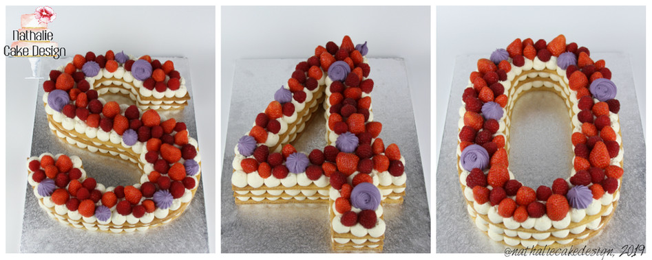 Number Cake S40
