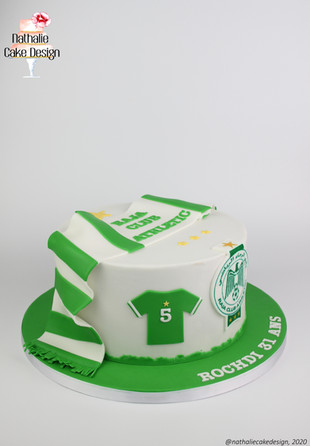 Gâteau Football Maroc