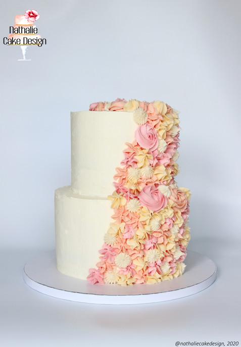 Wedding Cake Layer Cake Cascade Pochée