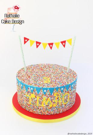 Gâteau Fête Foraine