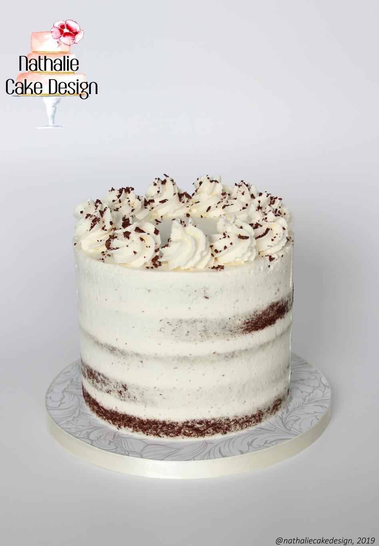 Semi Naked Cake Chantilly
