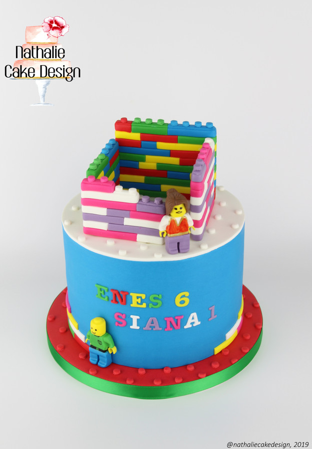 Gâteau Lego Mixte