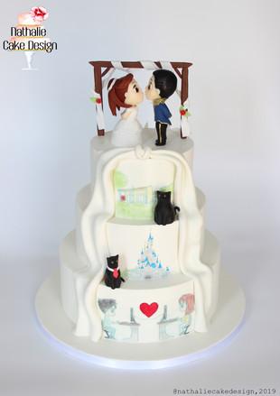 Wedding Cake Double Face 2