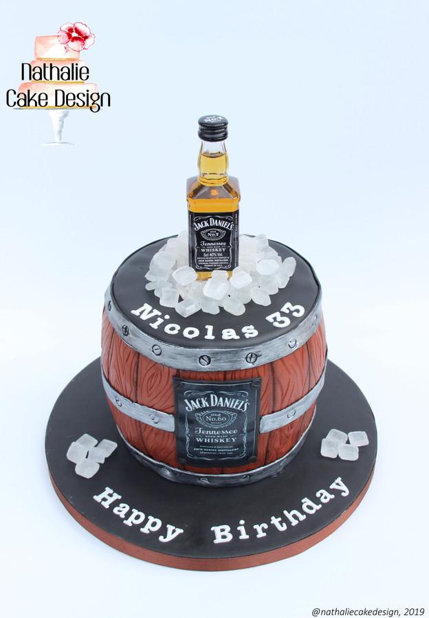 Gâteau Jack Daniel's