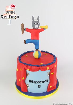 Gâteau Ane Trotro