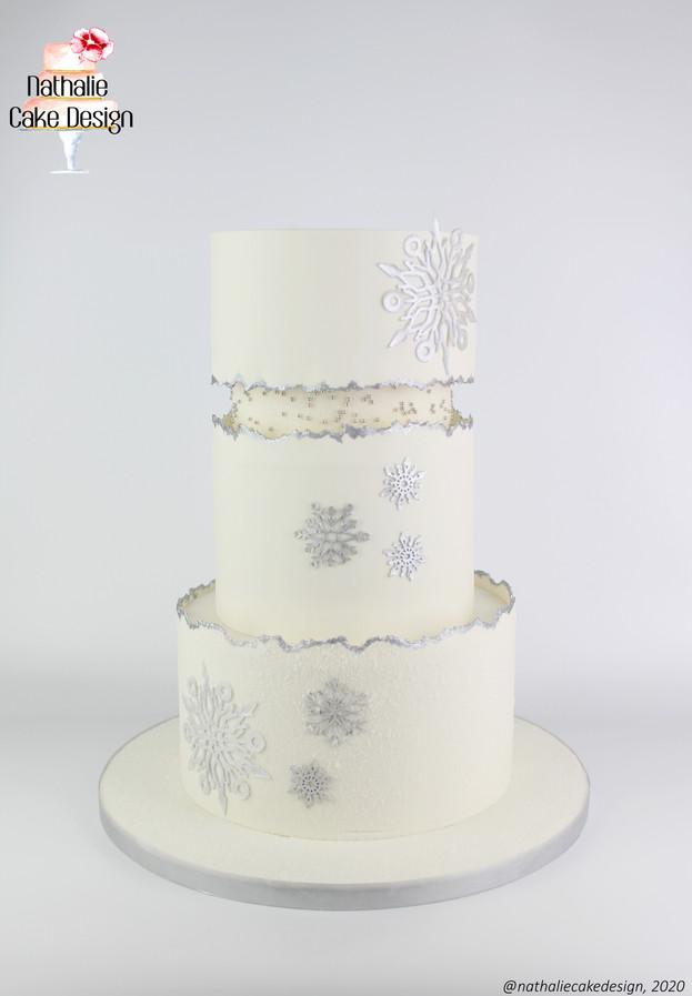 Wedding Cake Hiver étoilé