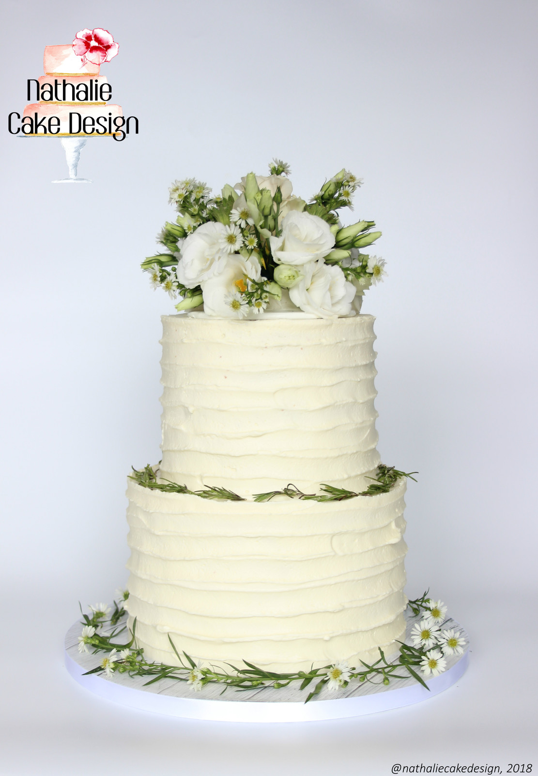 Piece Montee Layer Cake Floral