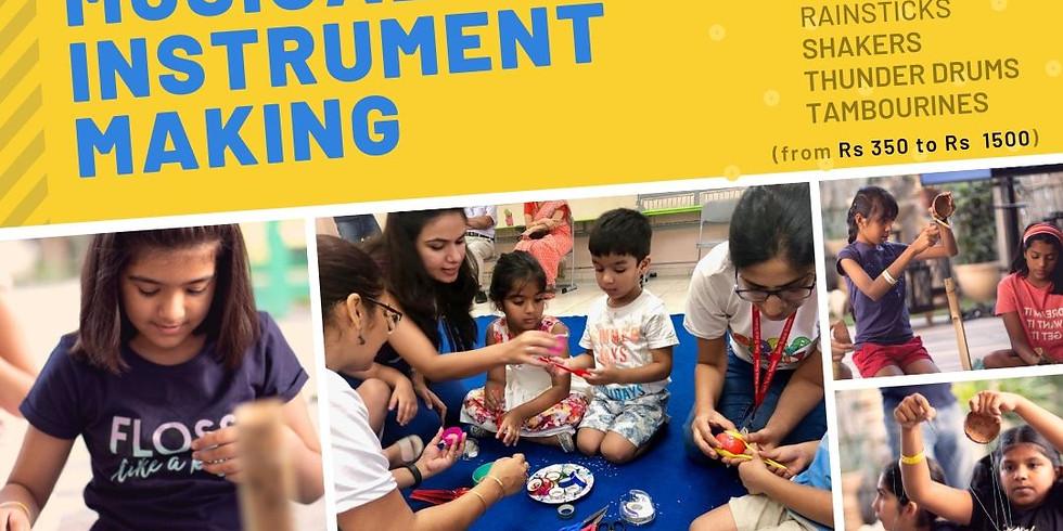 Instrument Making Workshop for Parents and Kids