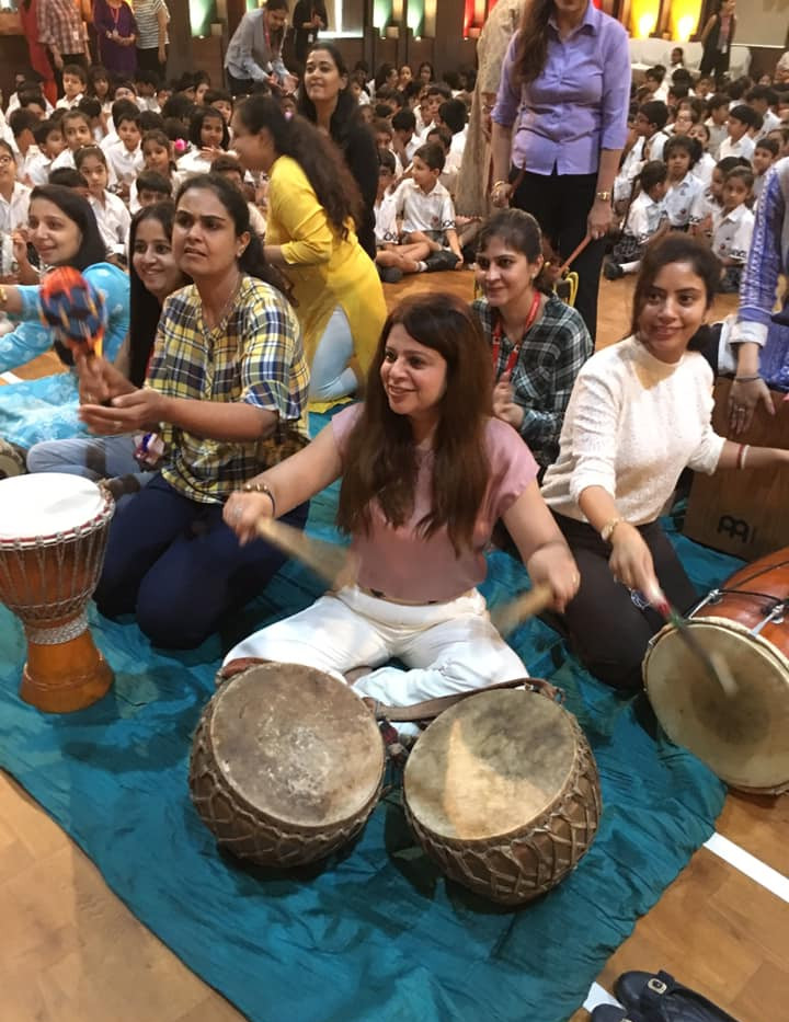 teachers on daman dhol djembe.jpg
