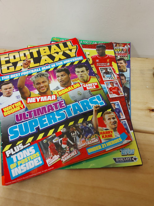 Magazines (50p each)