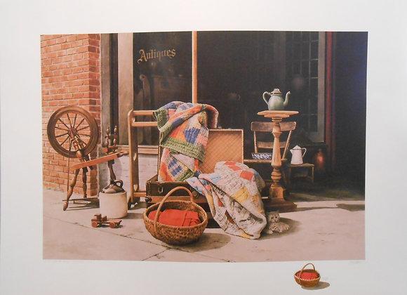 """""""Sidewalk Sale"""" by Mel Steele"""