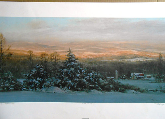"""Winter Morning"" by Harry Tepker     $"
