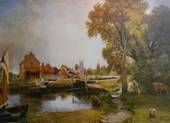 """""""Lakeside Scene"""" by John Congolde     $"""