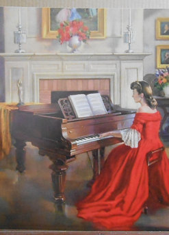 """""""Sonata"""" by M Ditlef  click on page for custom prints"""