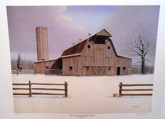 """""""He Giveth Snow like Wool"""" by Jeremy Sams"""