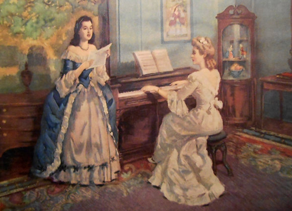 """Melody"" by Frederic Mizen"