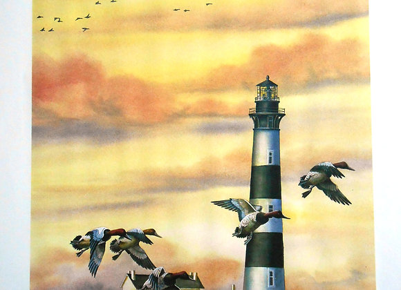 """""""Bodie Island Lighthouse"""" by Robert Flowers     $"""