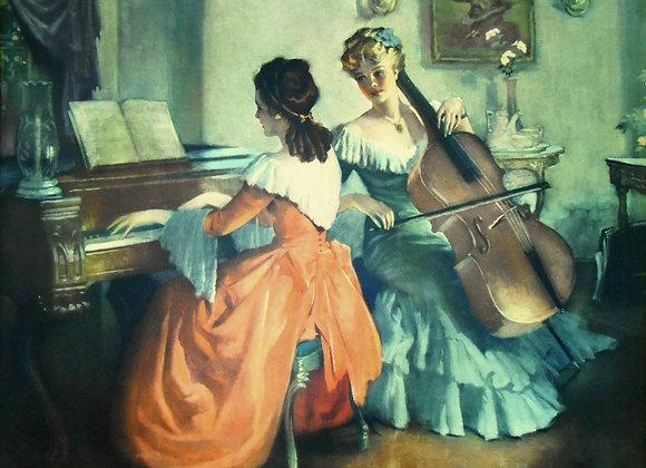"""Recital"" by Frederic Mizen"