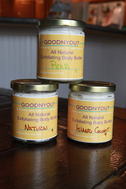 Exfoliating Body Butter