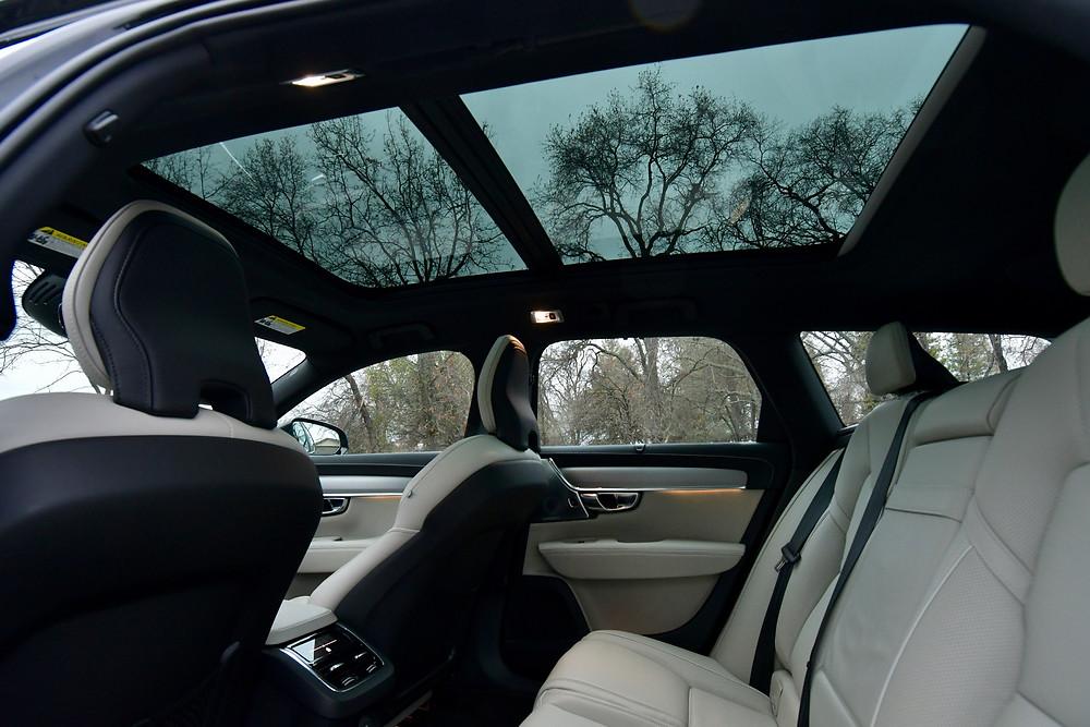 2021 Volvo V90 Blonde Interior