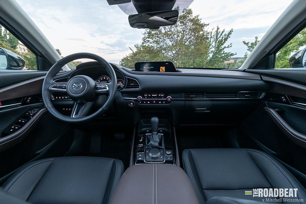 2021 Mazda CX-30 Premium interior