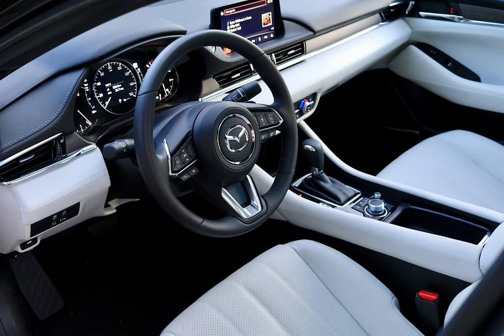 mazda 6 signature interior picture