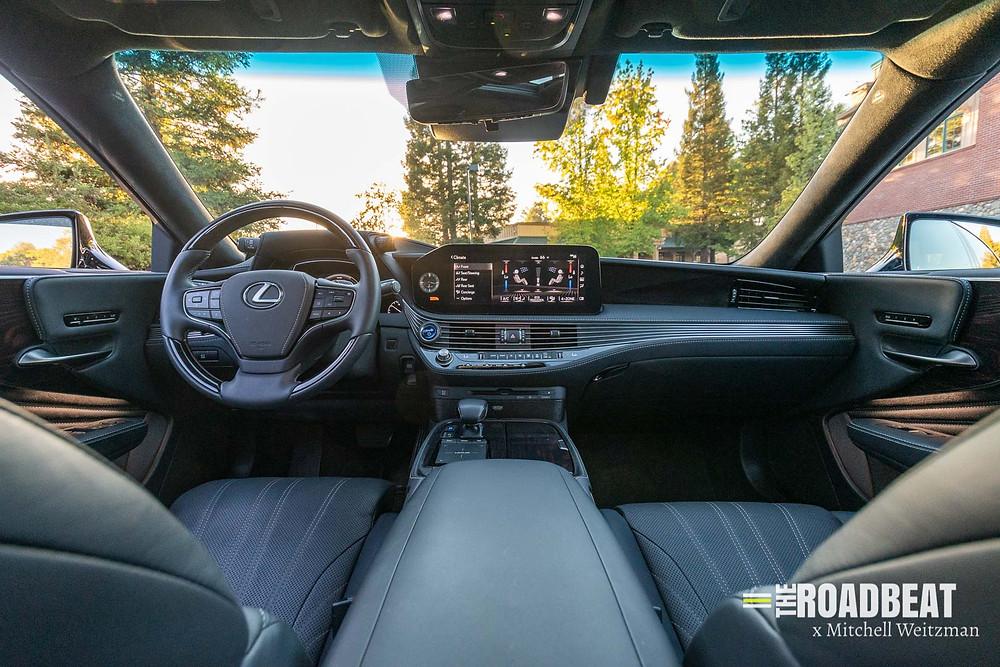 2021 Lexus LS 500h | The Road Beat